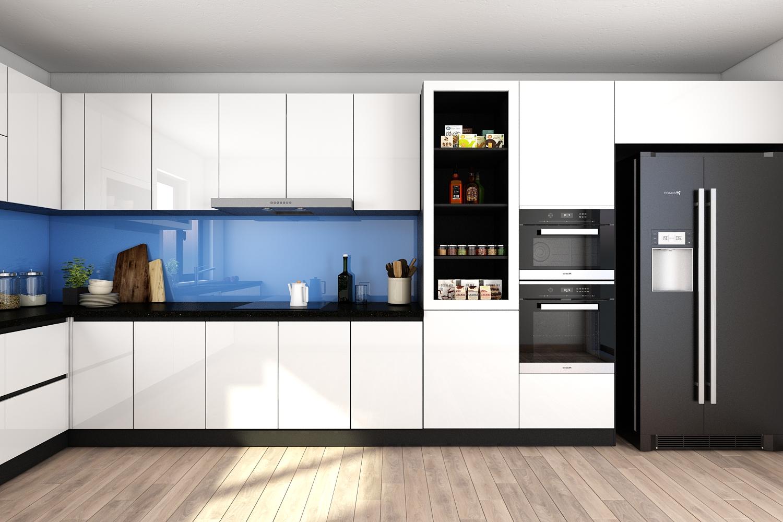 Tủ bếp nhựa picomat là gì? Ưu – nhược điểm của tủ bếp nhựa Picomat