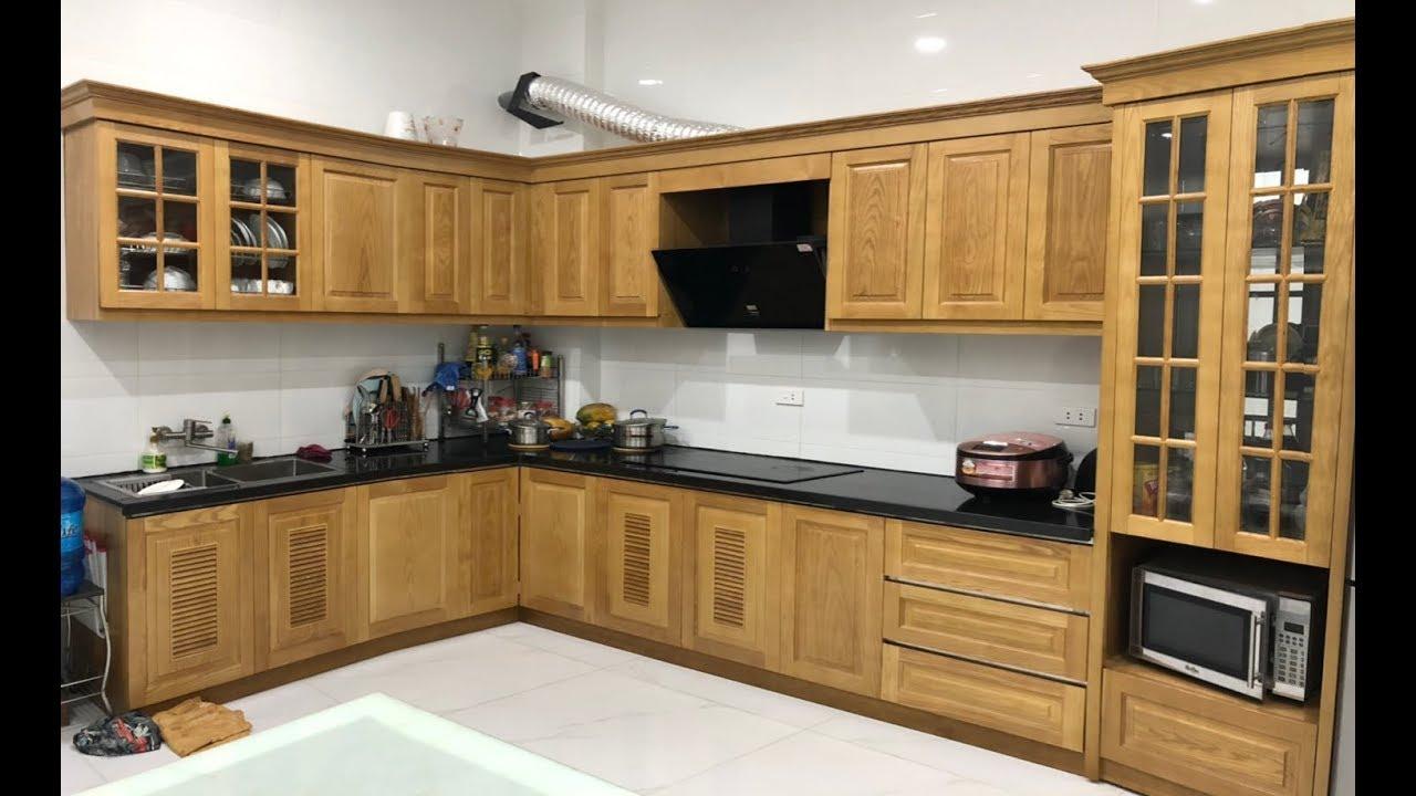 Địa chỉ mua tủ bếp khung inox cánh gỗ lý tưởng cho gia đình