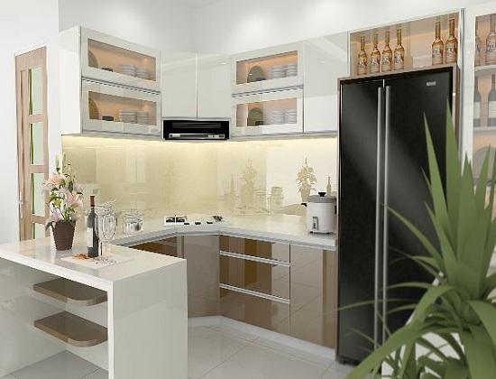 Thiết kế, thi công tủ bếp công nghiệp chất lượng, giá rẻ tại Hà Nội