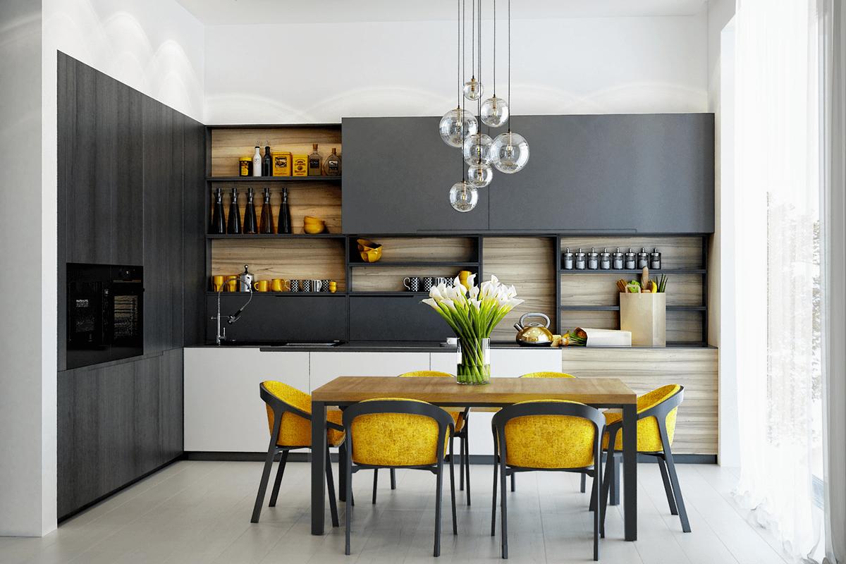 Dịch vụ thiết kế thi công tủ bếp tại Hà Nội