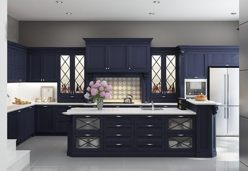 Dịch vụ thiết kế thi công tủ bếp tại Hạ Long
