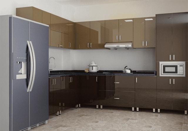 Dịch vụ thiết kế thi công tủ bếp tại Ninh Bình