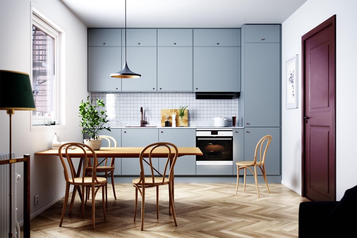 Dịch vụ thiết kế thi công tủ bếp tại Sơn La