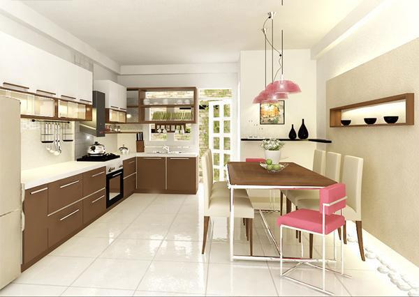 Dịch vụ thiết kế thi công tủ bếp tại TP Uông Bí