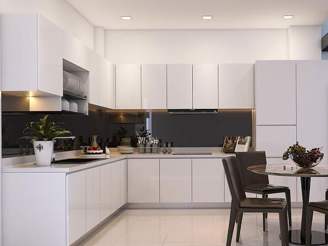 Dịch vụ thiết kế thi công tủ bếp tại Thái Nguyên1