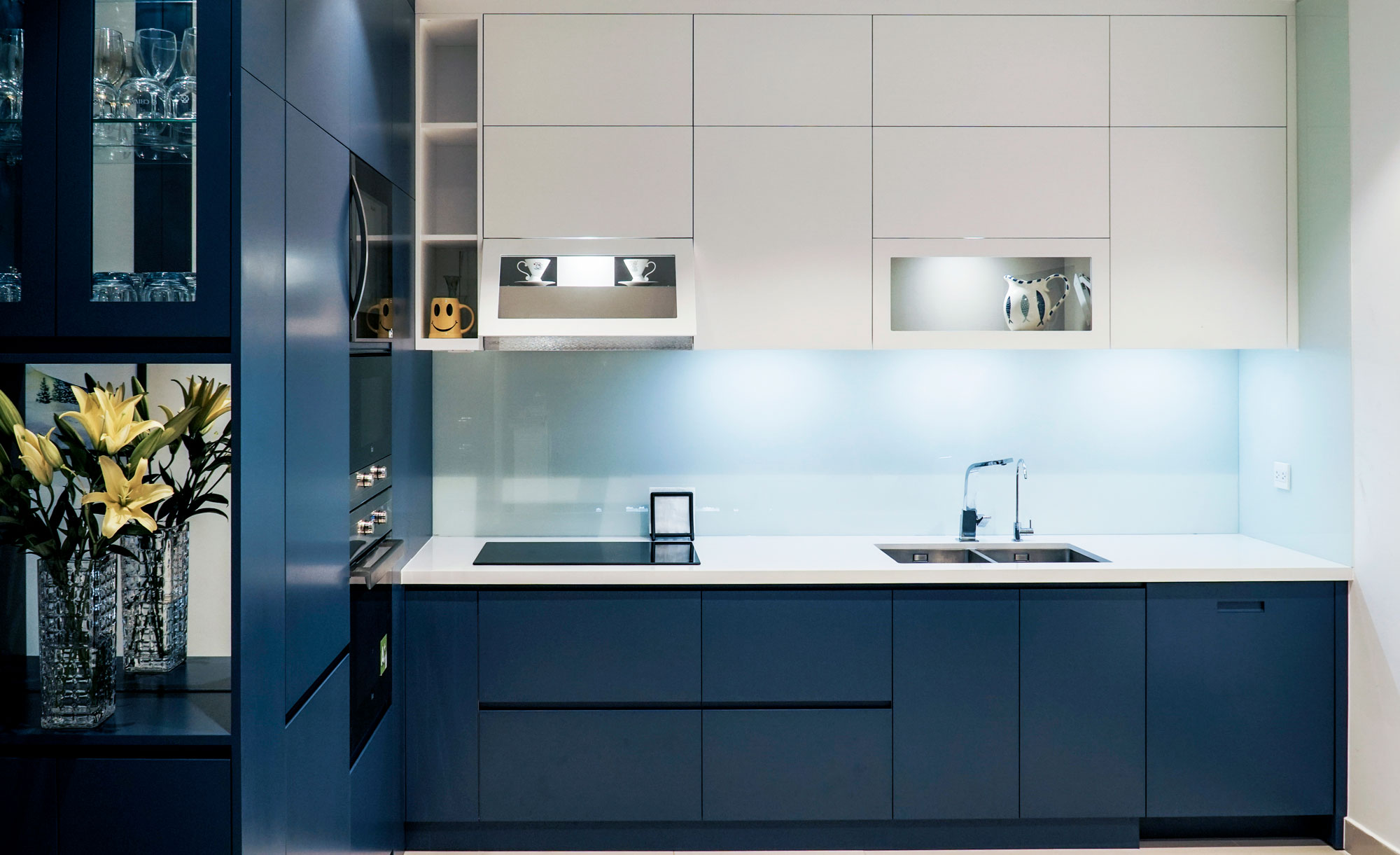 Dịch vụ thiết kế thi công tủ bếp tại Quảng Ninh
