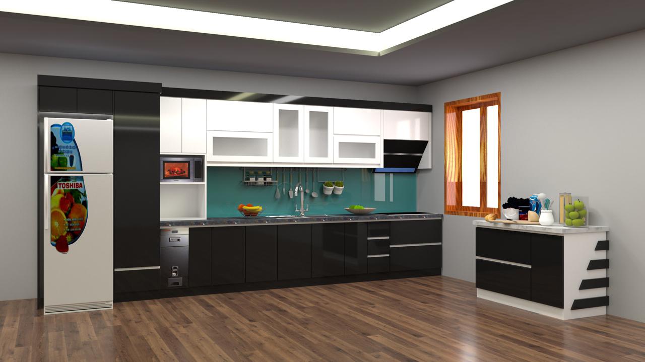 Đóng tủ bếp giá rẻ tại Vĩnh Phúc